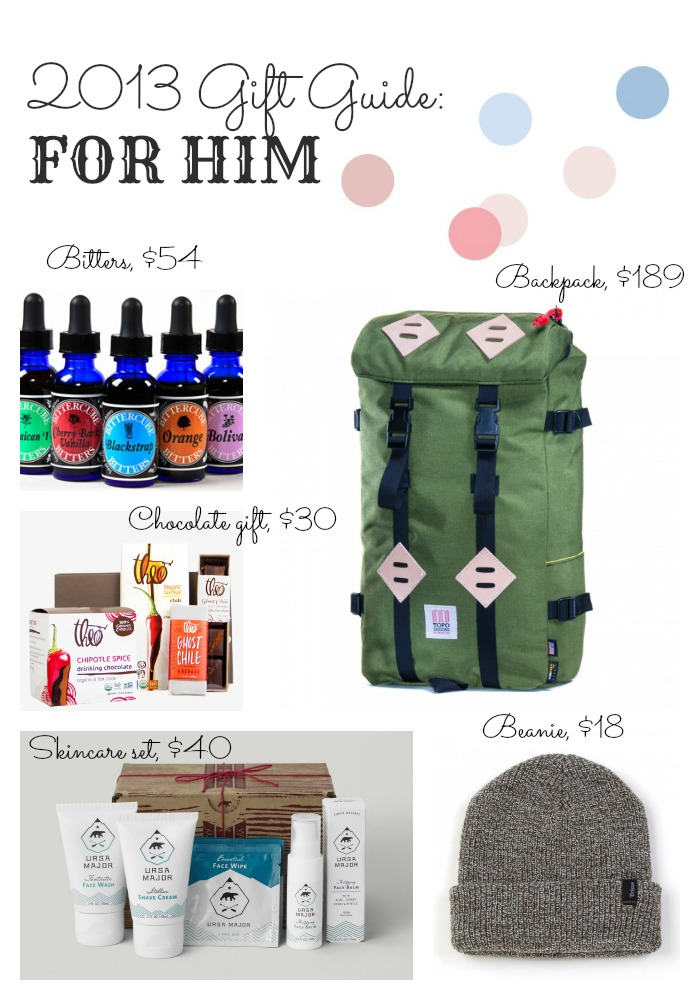 2013 gift guide for men, best gifts for guys, gift ideas for guys, gifts for husband