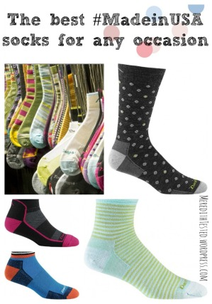 The best wool socks for any occasion from MeredithTested.wordpress.com #madeinusa