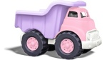 Pink dump truck toy from Green Toys, MeredithTested.wordpress.com