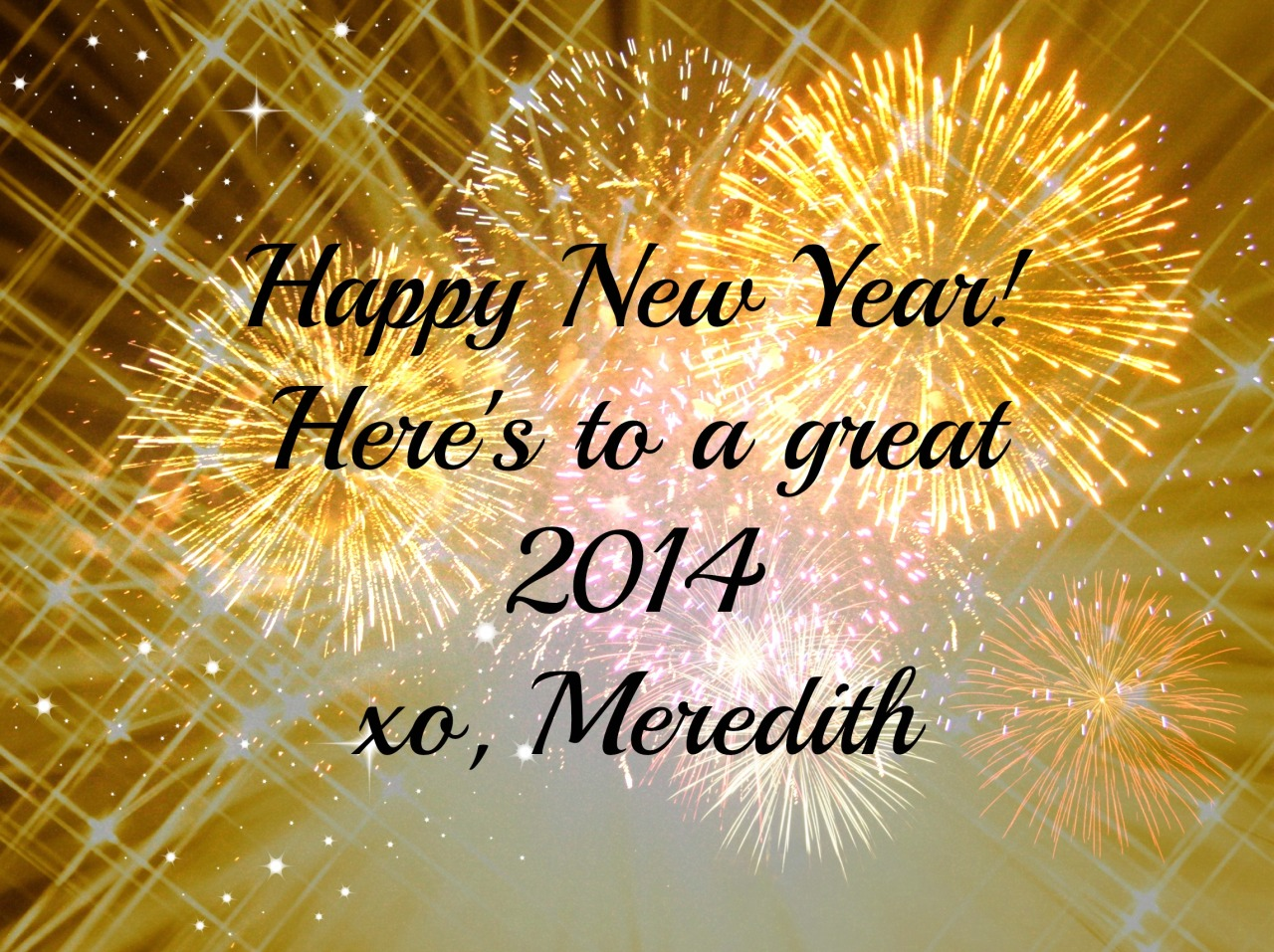 Happy New Year from MeredithTested.wordpress.com