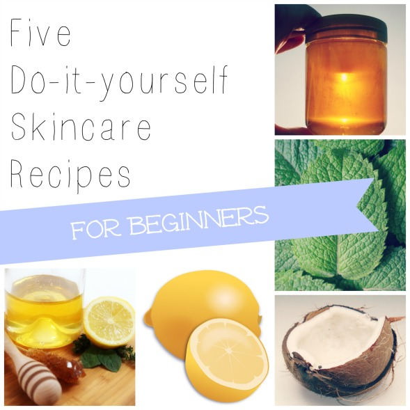 Easy DIY skincare recipes for beginners, from MeredithTested.wordpress.com // #diy #recipes #skincare #organic #ecofriendly #nontoxic