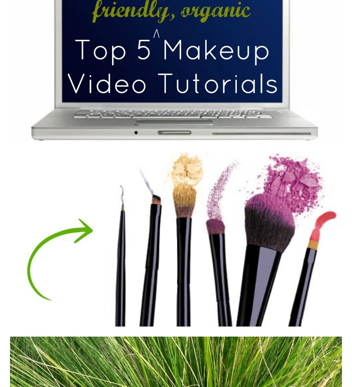Top 5 Non-toxic, green, eco-friendly, organic, healthy makeup tutorials // MeredithTested.wordpress.com