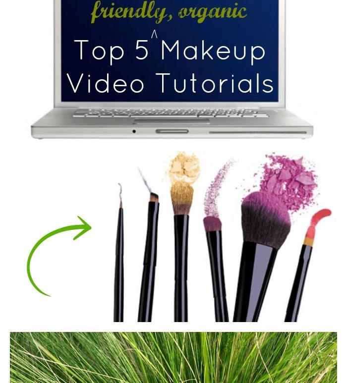 Top 5 Non-toxic, green, eco-friendly, organic, healthy makeup tutorials // MeredithTested.wordpress.com