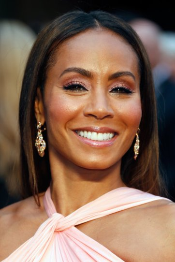 Jada Pinkett Smith makeup oscars academy awards 2014 // MeredithTested.wordpress.com #oscars