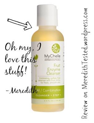 Mychelle facial cleaner