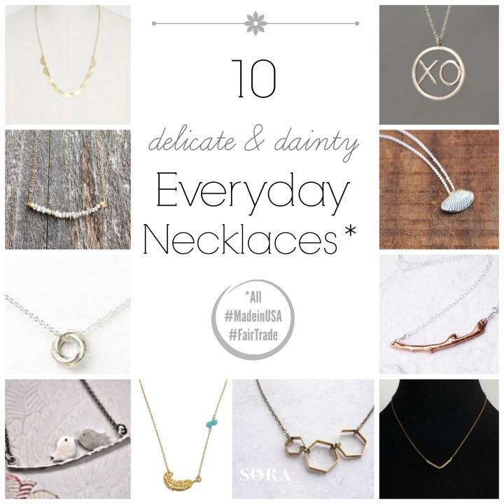 everyday necklaces
