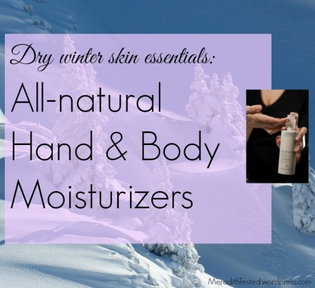 hand and body moisturizers