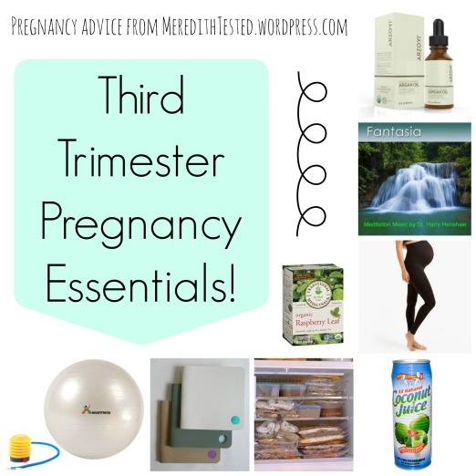 third trimester pregnancy products advice essentials