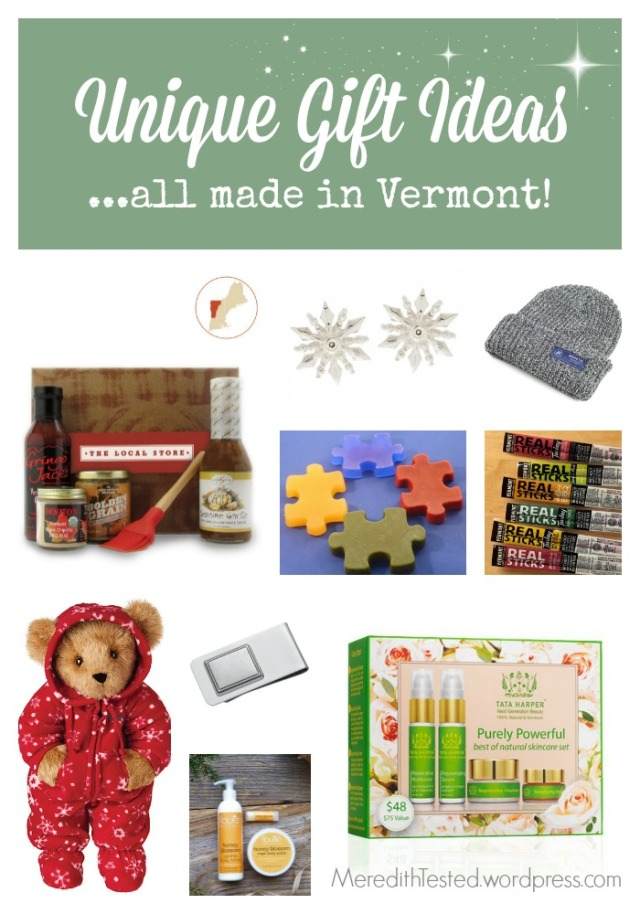 made in vermont gifts, made in usa gifts, unique gift ideas 2014