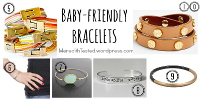 baby new mom bracelet present