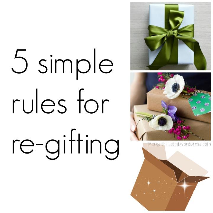 regifting