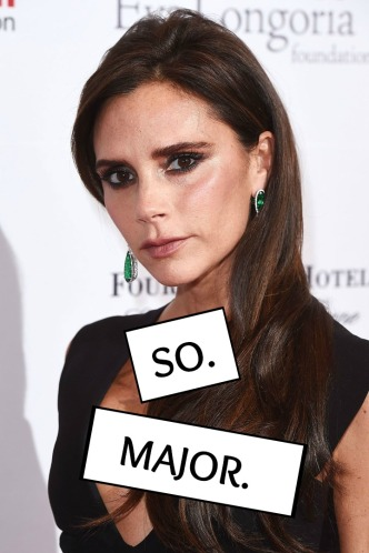 victoria beckham so major