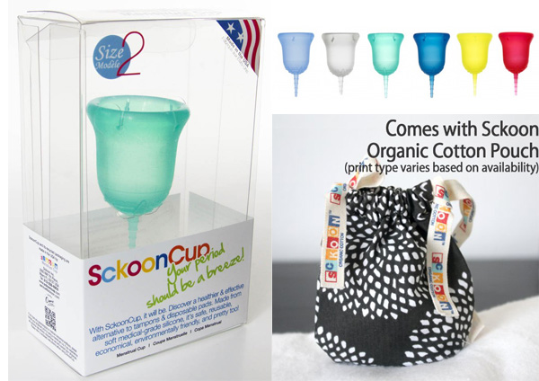 sckoon cup menstrual cup review lunette diva