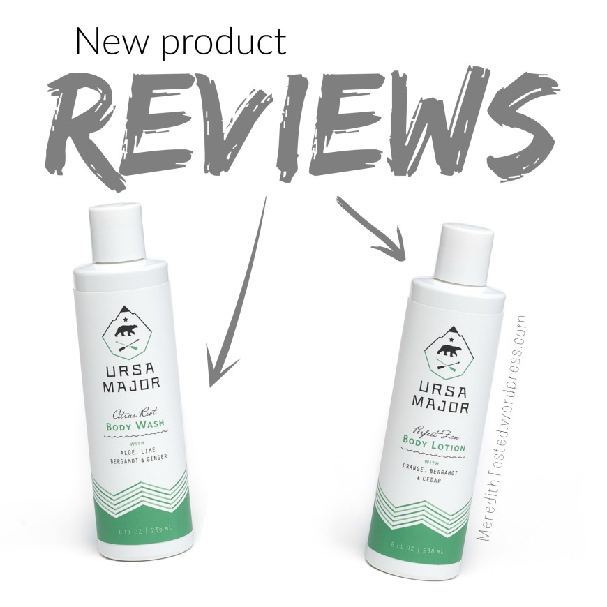 Ursa Major Green Beauty Skincare Review, Body Lotion, Body Wash