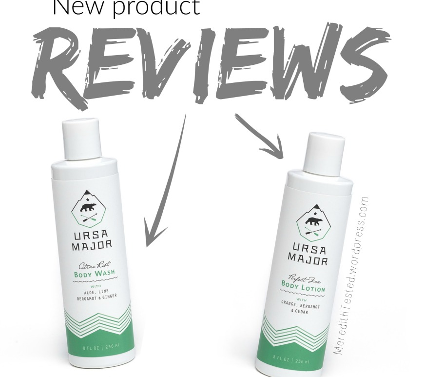 Ursa Major Green Beauty Skincare Review, Body Lotion, Body Wash