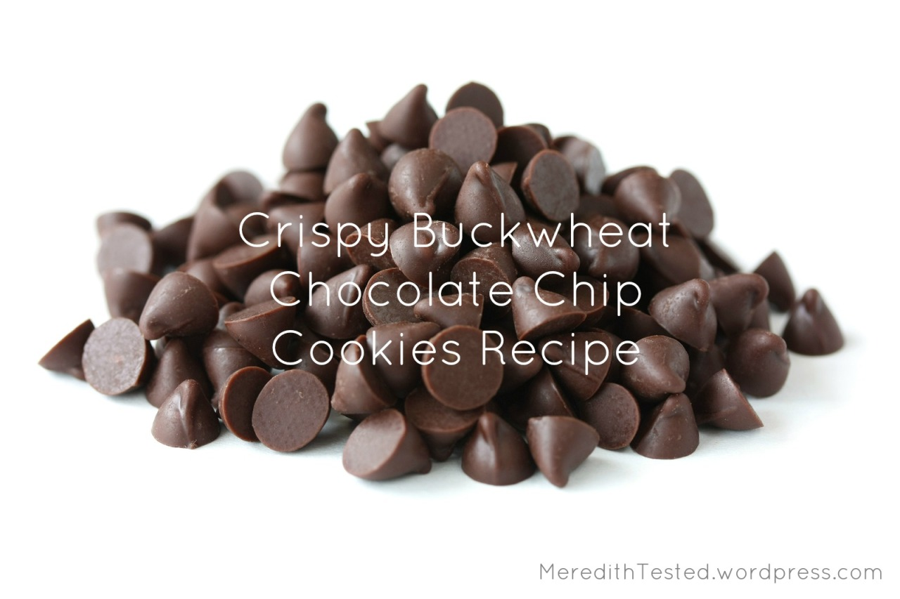 Gluten Free Dairy Free Chocolate Chip Cookie Recipe