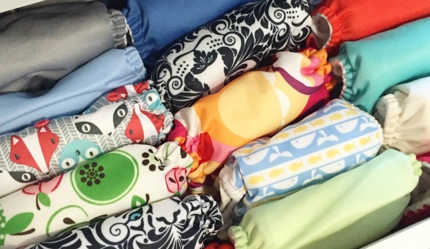 Cloth diapering and cloth wipes