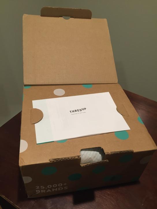 thredUp unboxing MeredithTested.wordpress.com