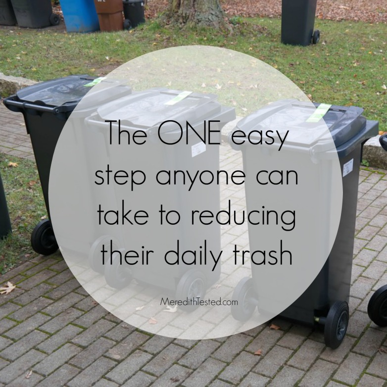 Easy way to go green and reduce your carbon footprint and attempt zero waste, tips for reducing household garbage