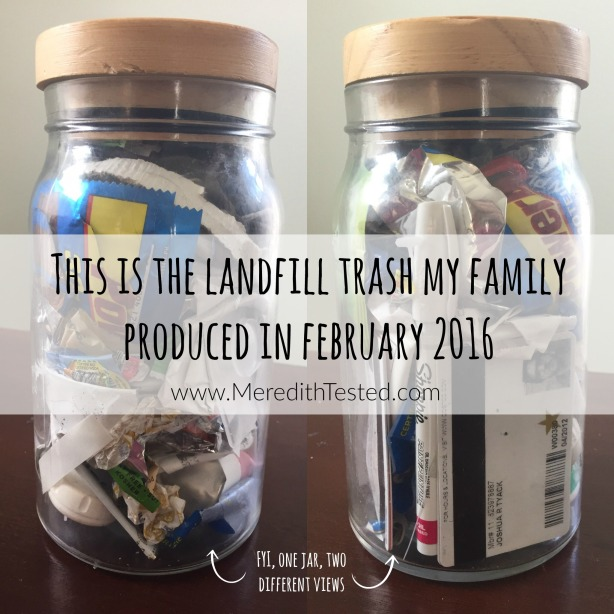 zero waste family february 2016_meredith tested