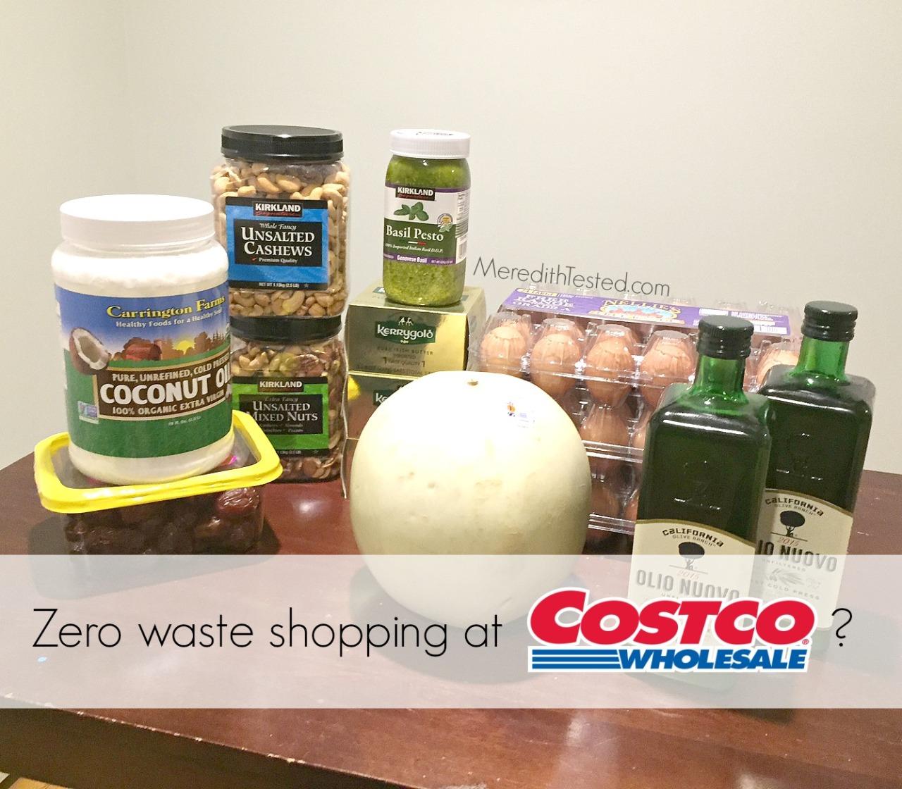 Shopping in bulk, zero waste at Costco