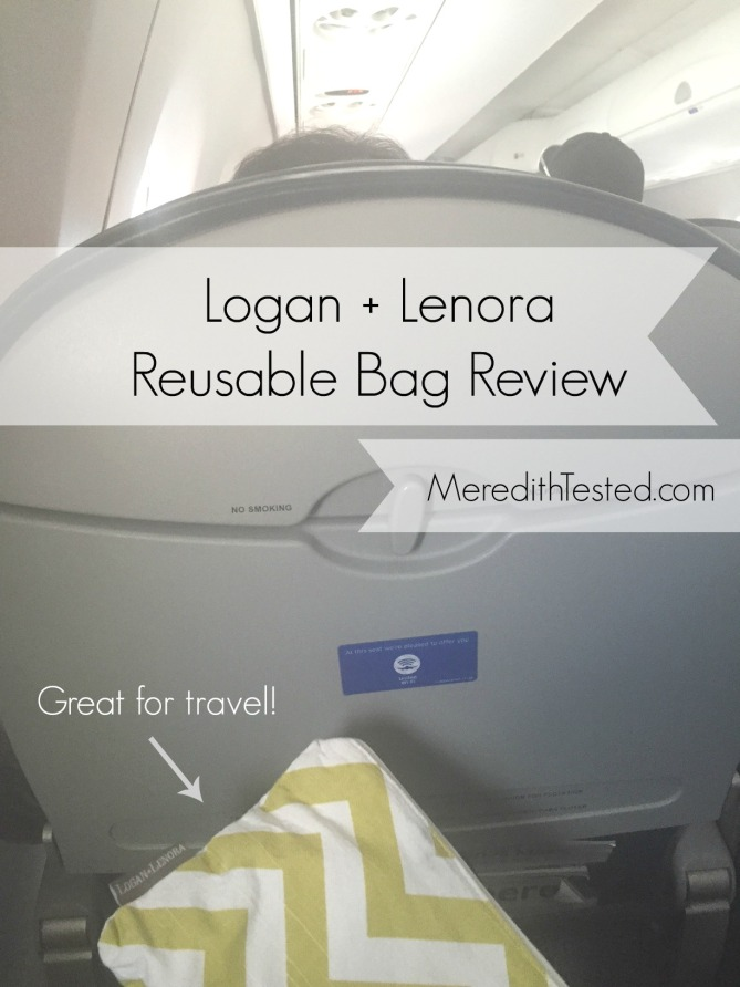 Zero waste, garbage free, eco-friendly alternative to ziploc bags - Logan and Lenora wet bag pouch review on MeredithTested.com