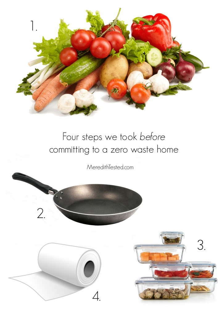 How to slowly transition to a zero waste home