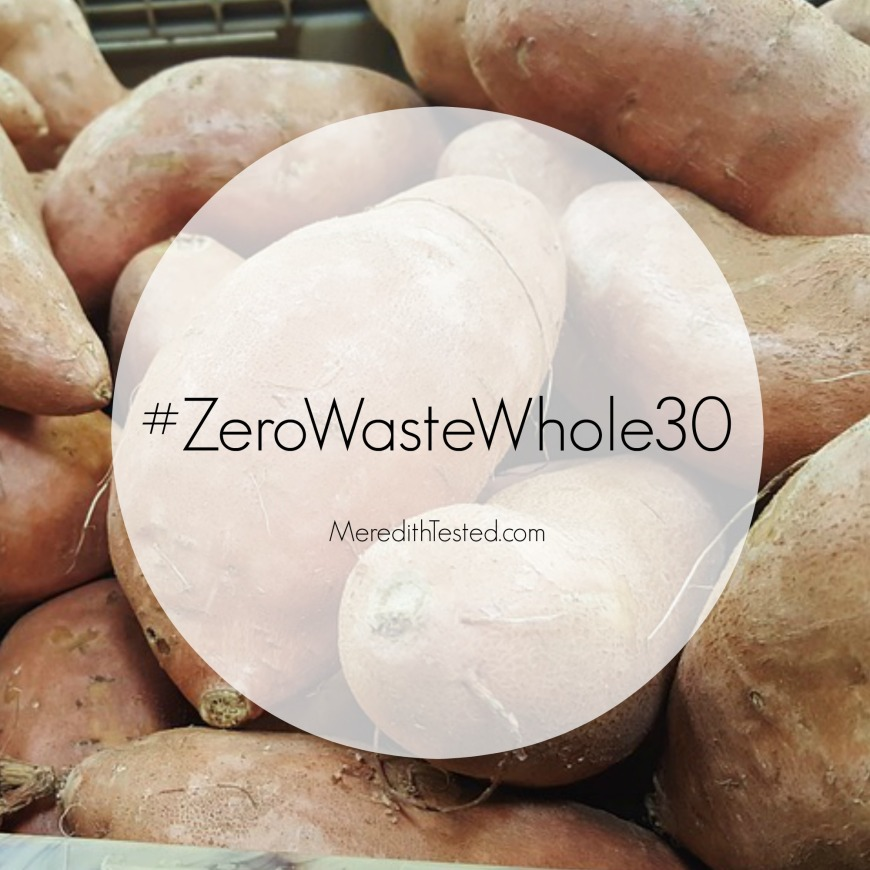 Complete a Whole 30 with Meredith and learn how to reduce your food waste and garbage!