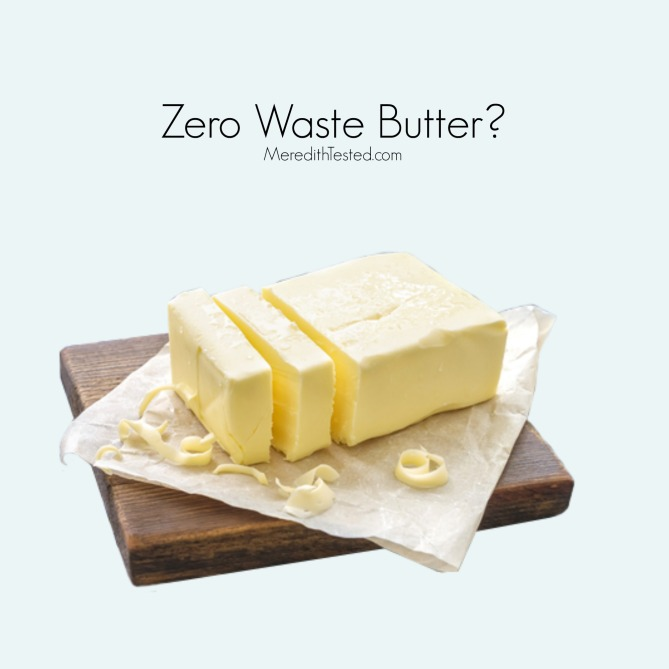 Butter options for people going zero waste