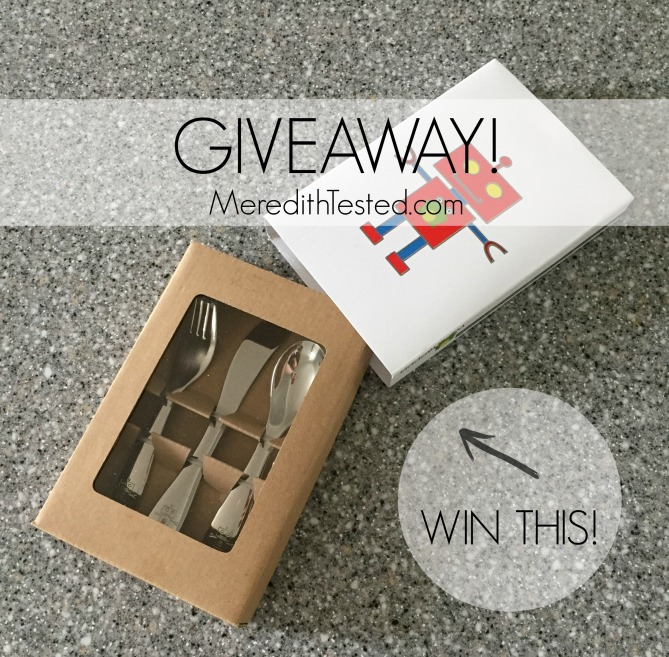Win a set of utensils from Kiddobloom! // MeredithTested.com
