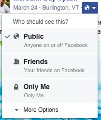 How to see what your public Facebook profile looks like // Declutter your facebook page!