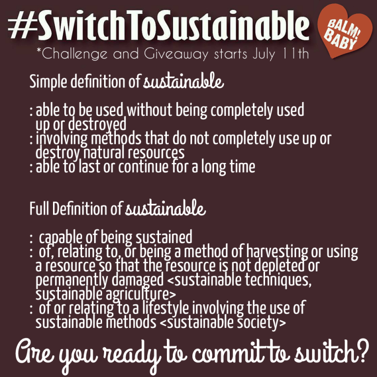 Join Meredith and Switch to Sustainable! Click to learn how to make the switch and win great prizes!