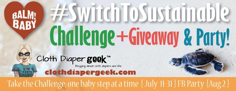 Switch to Sustainable with Balm! Baby and WIN amazing prizes (while you're saving the earth and simplifying your life!)