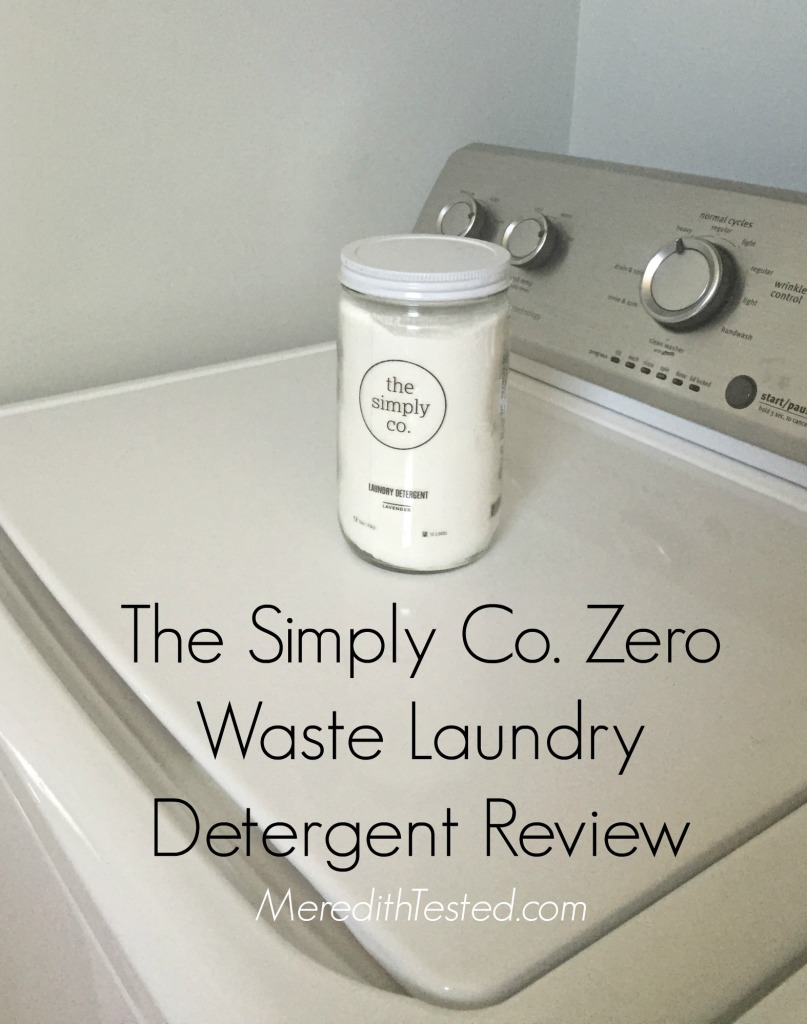 The Simply Co Zero Waste Laundry Detergent Review on MeredithTested.com