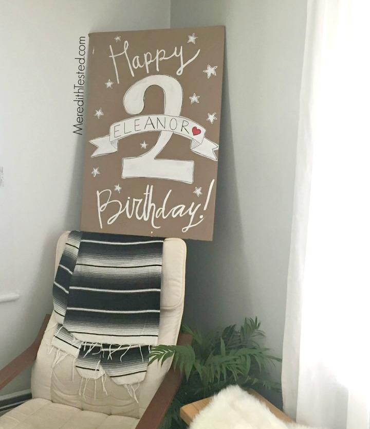 eco friendly, zero waste birthday party