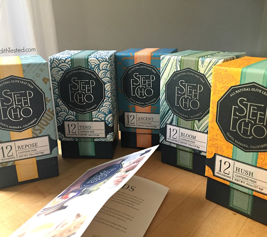 Steep Echo Olive Leaf Tea Review - Meredith Tested