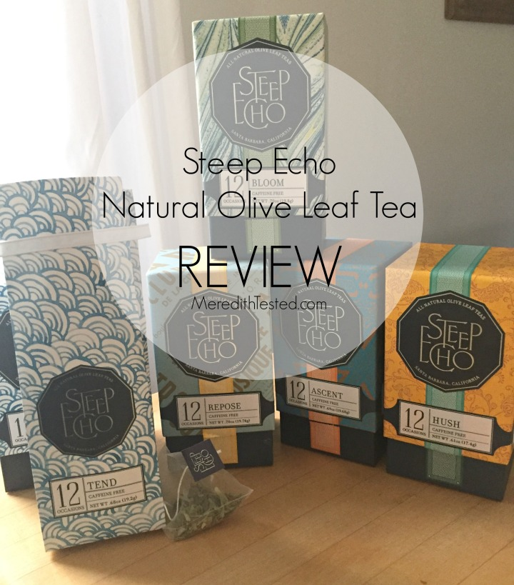Unique gift idea Steep Echo Olive Leaf Tea