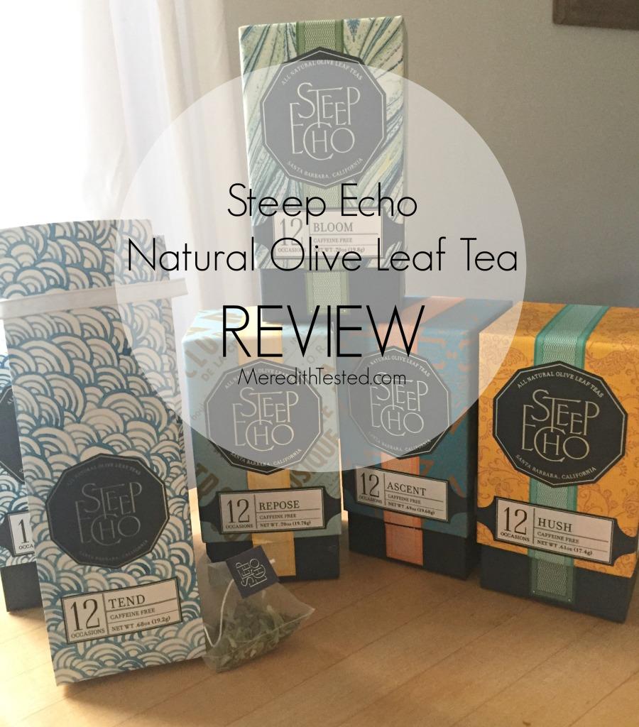 Unique gift idea Steep Echo Olive Leaf Tea