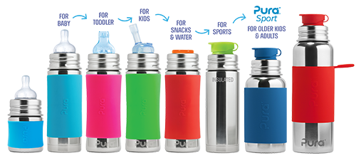 plastic free eco friendly water bottles - review and giveaway on MeredithTested.com
