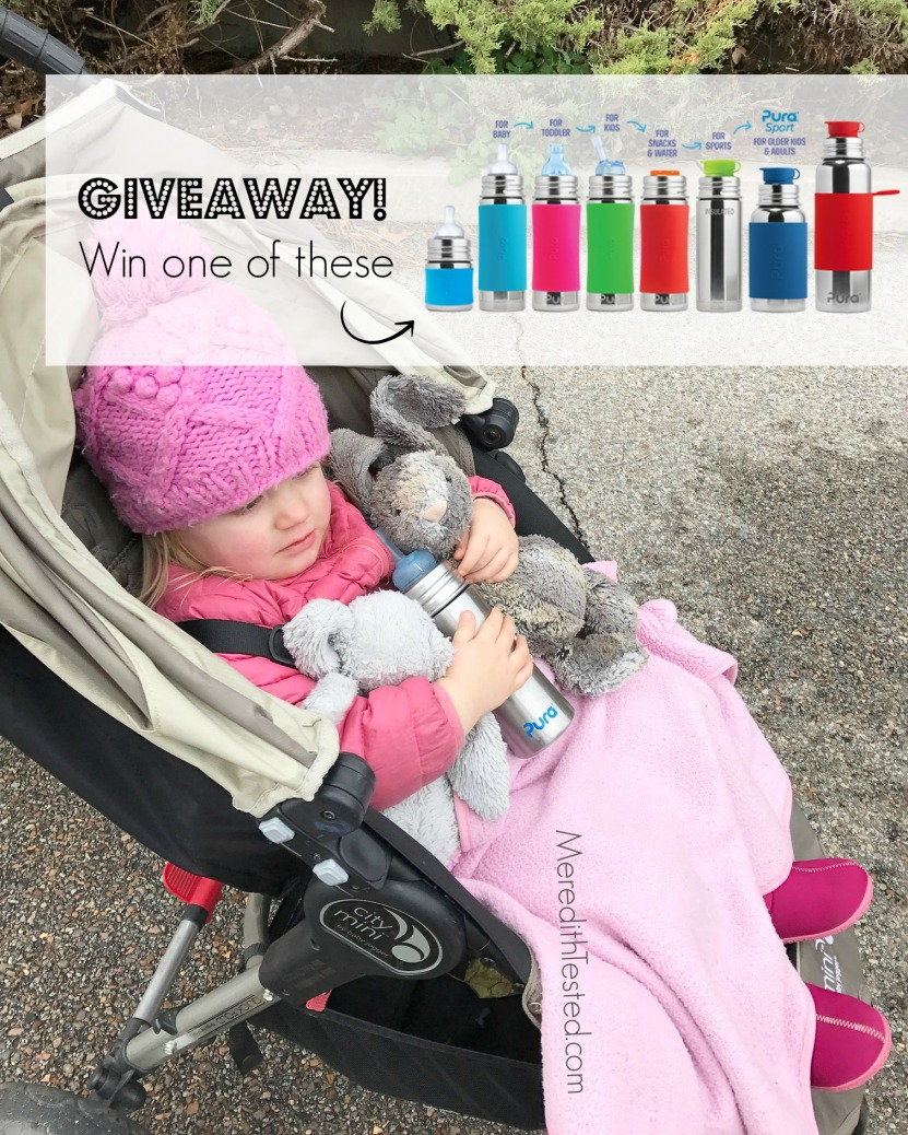 Pura stainless plastic free bottle giveaway