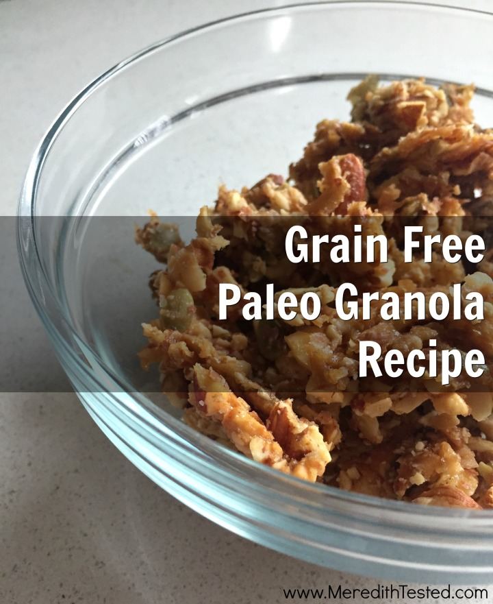 How to make grain-free, zero waste granola
