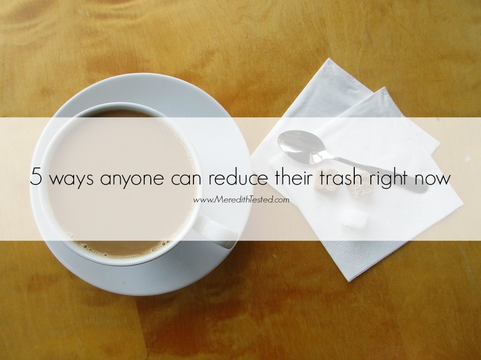 tips for zero trash waste