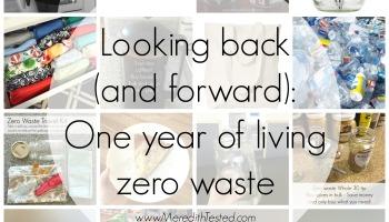 family living zero waste, zero trash with kids