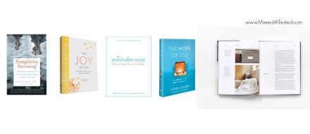 simple parenting, minimalism for kids, book list