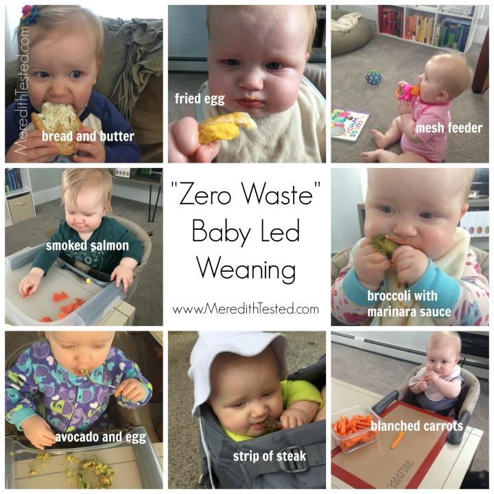 zero waste baby led weaning