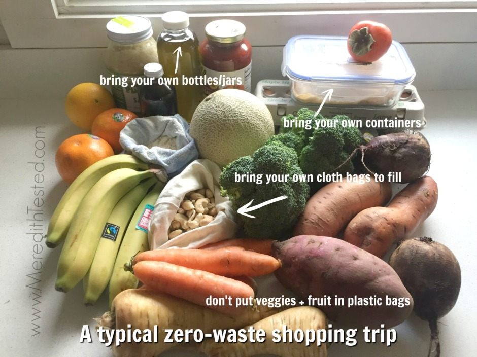 zero waste, low waste shopping for baby and toddler